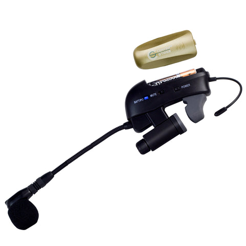 Image of Nady CenterStage Satellite SMHT-100 100-Channel Wireless Wind Instrument System