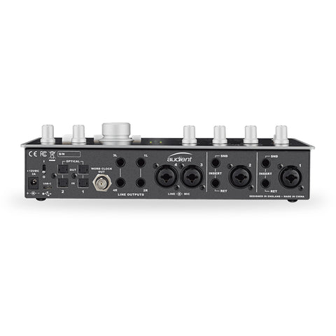 Image of Audient ID44 4 Channel USB Audio Interface with Monitor Control