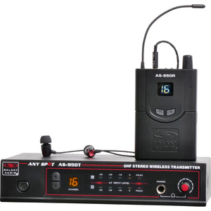 Galaxy AS-950 In-Ear Monitor System - Freq-P2 470 MHz - 489 MHz