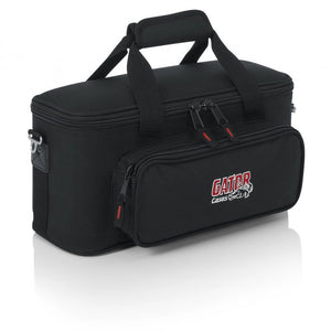 Gator Cases GM-12B Padded Bag for 12 Microphones, Cables, and Accessories