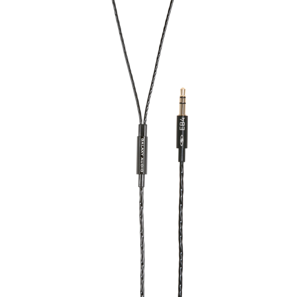 Galaxy Audio EB-4 In-Ear Monitor Earbuds