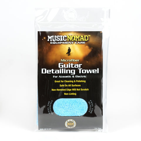 Image of Music Nomad MN202 Edgeless Microfiber Guitar Detailing Towel