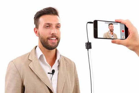 IK Multimedia iRig Mic Lav Lavalier Microphone for iPhone/iPad/Android