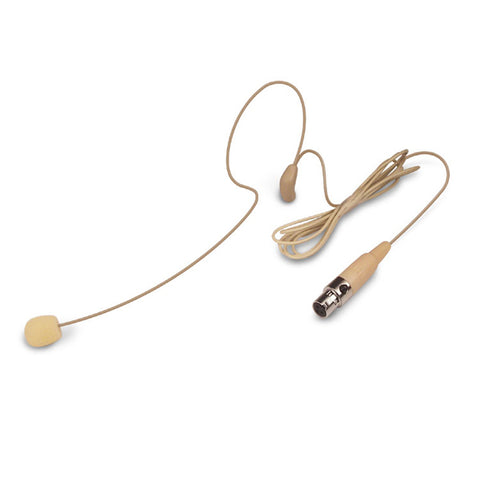 Nady HM-35 Mini-XLR Single Headset Microphone for Wireless - Beige