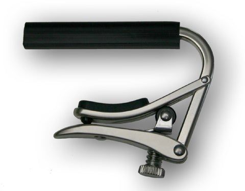 Shubb Capos C2N Standard Brushed Nickel Nylon String Guitar Capo