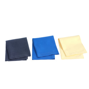 Music Nomad MN203 3 Super Soft Edgless Microfiber Suede Polishing Cloth Pak