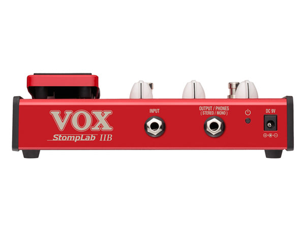 VOX Stomplab IIB Bass Guitar Multi-Effects Pedal w/Expression Pedal (2B)