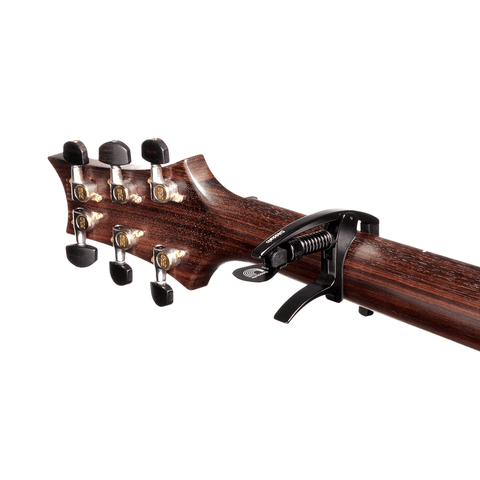 D'Addario NS Tri-Action Acoustic/Electric Guitar Capo (PW-CP-09)