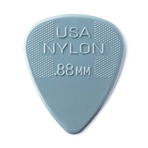 Dunlop 44P088 Nylon Standard Player's 12-Pack Guitar Picks
