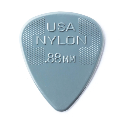 Image of Dunlop 44P088 Nylon Standard Player's 12-Pack Guitar Picks