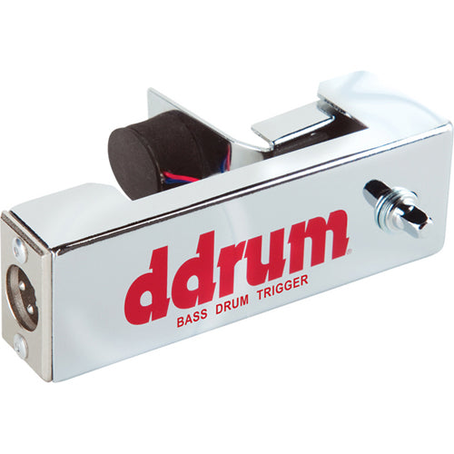 ddrum Chrome Elite Acoustic Drum Trigger Bass/Kick Drum - New Improved Trigger