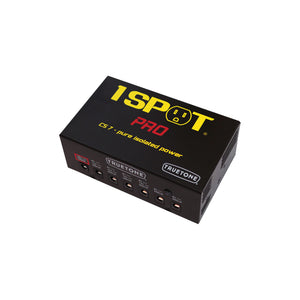 1 Spot Pro CS7 Power Brick 7 Guitar Pedal Power Supply 9Vdc-18Vdc