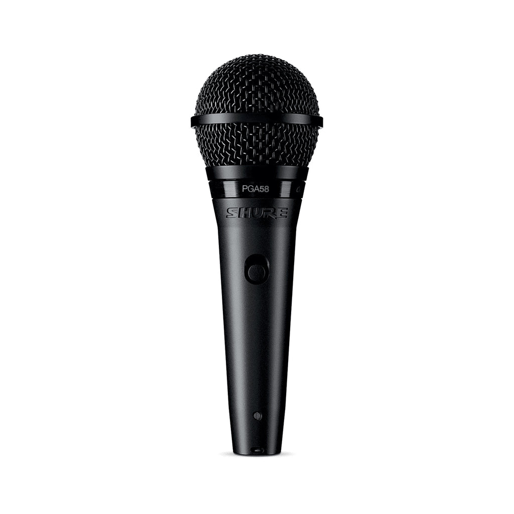 Shure PGA58-XLR Cardioid Dynamic Vocal Microphone w/Cable