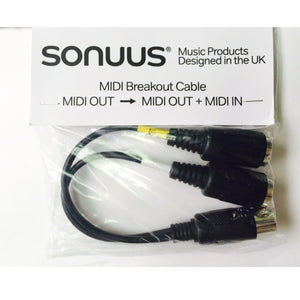 Sonuus MIDI Breakout Cable for G2M (Version 3)