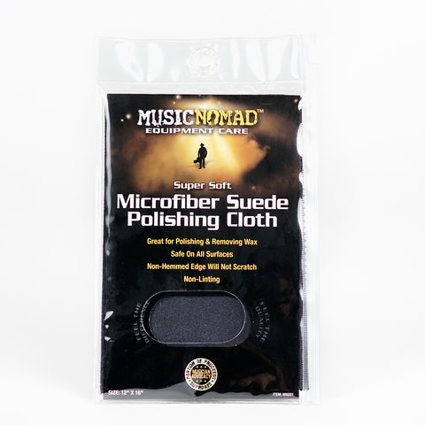 Music Nomad MN201 Super Soft Edgeless Microfiber Suede Polishing Cloth