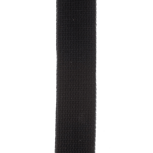 D'Addario 50CT00 Guitar Strap Cotton - Black