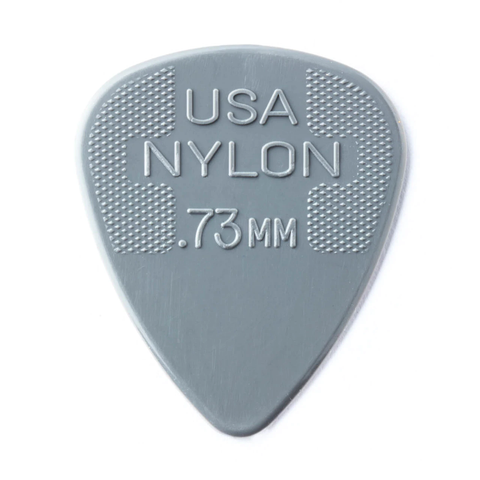 Image of Dunlop 44P073 Nylon Standard Player's 12-Pack Guitar Picks