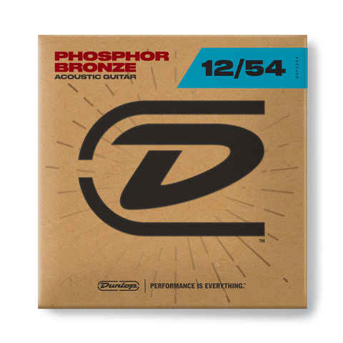 Image of Dunlop DAP1254 Phosphorus Bronze Acoustic Guitar Strings Set 12-54