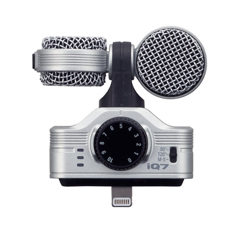 Image of Zoom IQ7 MS Stereo Microphone for iOS-iPad-iPhone