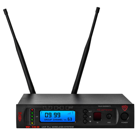 Image of Nady W-1KU GT 1000-Channel Professional UHF Guitar/Instrument Microphone Wireless System
