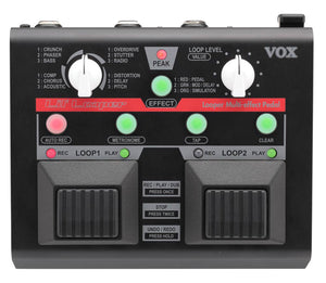 VOX Lil Looper Multi-Effect Loop Guitar Pedal