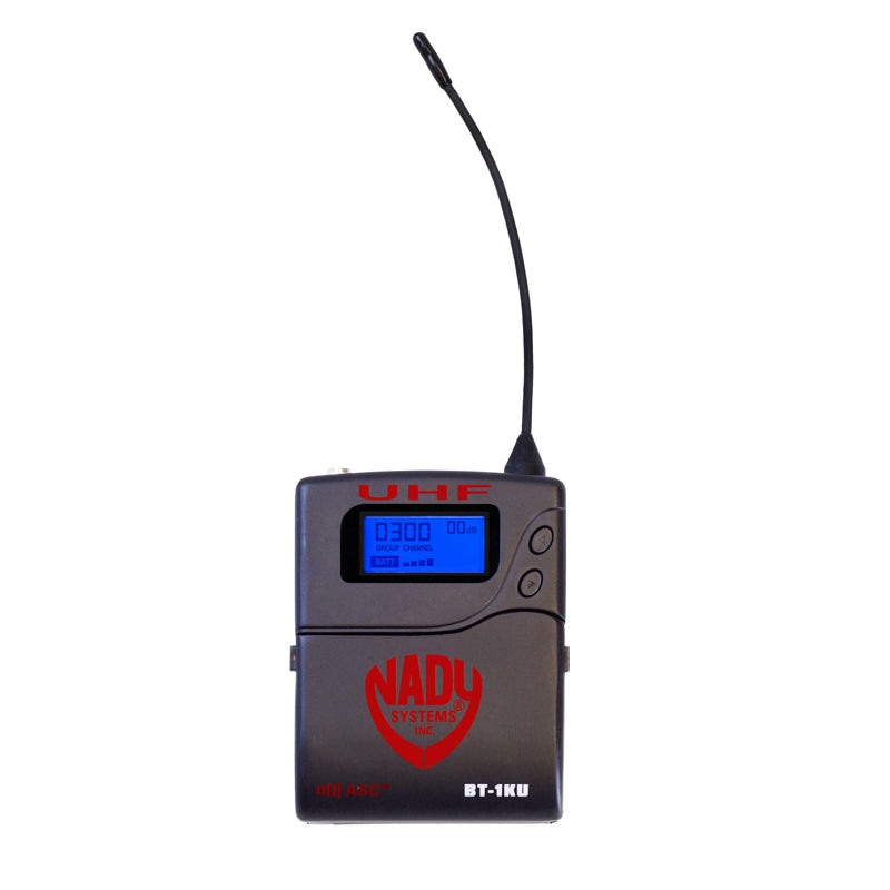 Nady 4W-1KU LT Quad 1000-Channel Professional UHF Wireless System with 4 Lavalier Microphones