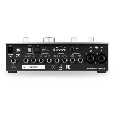 Audient ID22 2-Channel USB Audio Interface with Monitoring