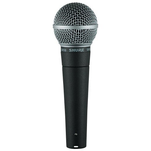 Shure SM58 Dynamic Vocal Microphone w/ FREE CABLE