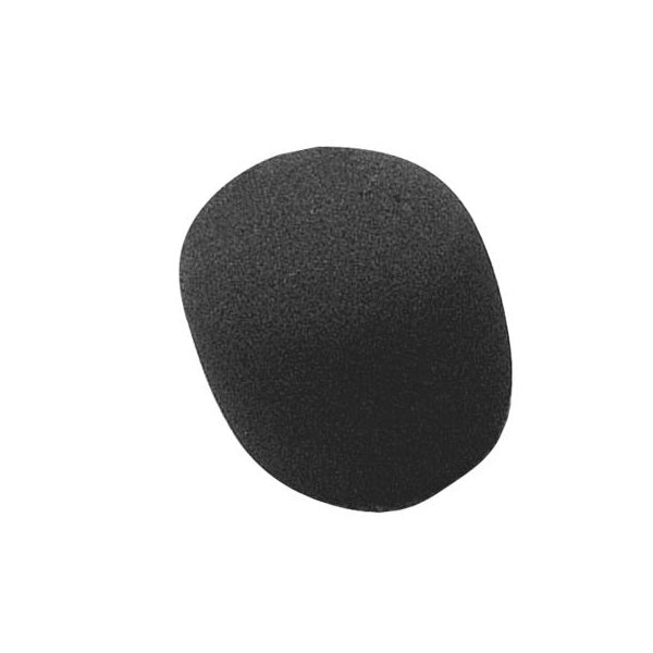 On-Stage Black Foam Windscreen for Vocal Microphones (ASWS58B)