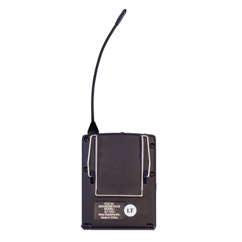 Image of Nady 2W-1KU HM-3 Dual 1000-Channel Professional UHF Wireless System w/ 2 Headset Microphones