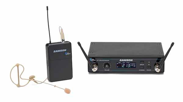 Samson Concert 99 80-Channel UHF Earset Microphone Wireless System