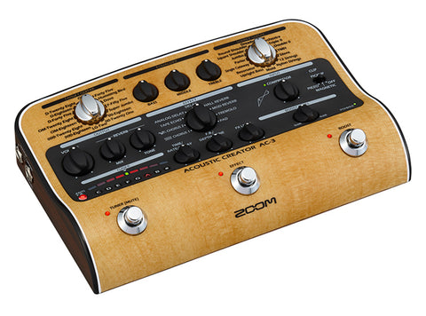 Zoom AC-3 Acoustic Creator Direct Box/Preamp/Effects