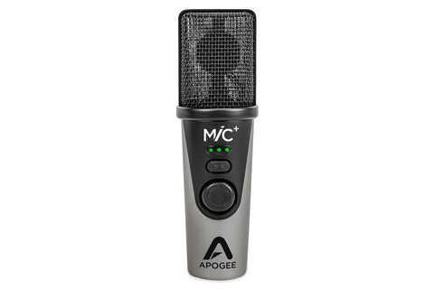 Image of Apogee Mic Plus USB Mobile Recording Microphone for Mac/PC/IOS