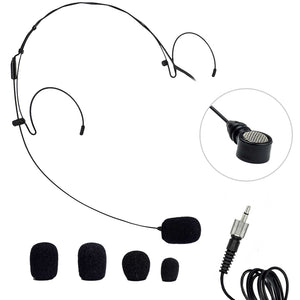 Nady HM-20U Headworn Uni-directional Microphone - 3.5mm Black