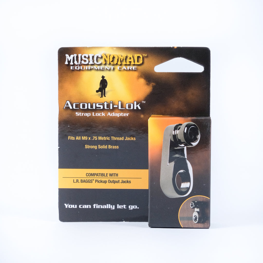 Music Nomad MN271 Acousti-Lok Strap Lock Adapter for Metric Output Jacks