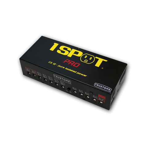 1 Spot Pro CS12 Power Brick Guitar Pedal Power Supply 9Vdc-18Vdc