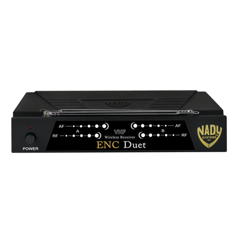 Nady ENC DUET Wireless Dual Channel Headset Microphone System