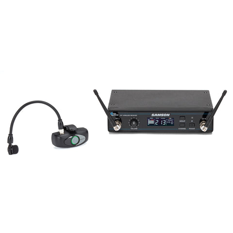 Image of Samson AWX Wind Instrument Micro Transmitter UHF Wireless Microphone System - D