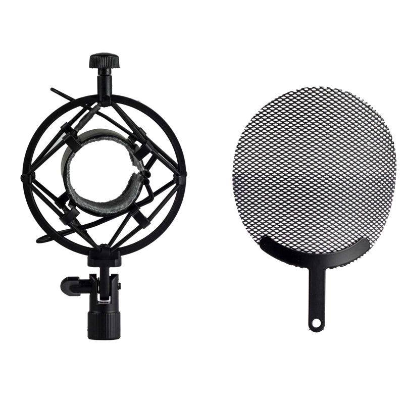 Nady SSPF 4 Large Microphone Spider Shockmount w/Integrated Pop Filter