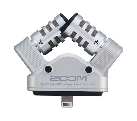 Image of Zoom iQ6 X/Y Stereo Microphone for IOS - iPhone, iPad, iPod Touch