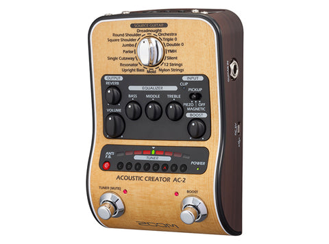 Image of Zoom AC-2 Acoustic Creator Direct Box/Preamp