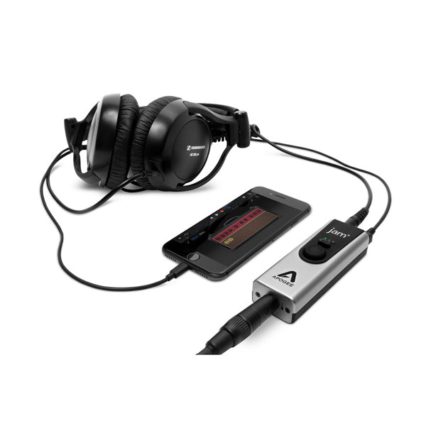 Apogee Jam Plus Portable iOS/USB Instrument Input with Headphone Output