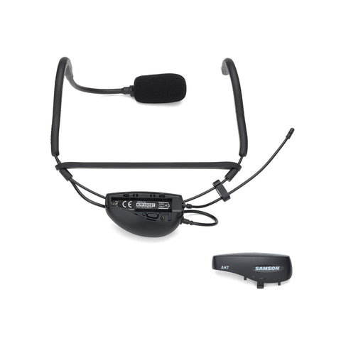 Samson Airline 77 Fitness Headset Wireless System with AH7, QE - K5