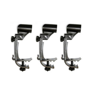 Samson DMC100 Drum Rim Mount Clips for SM57 SM58 3-Pack