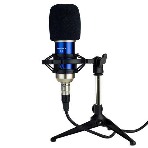 Image of Nady SCM-700  8-piece Condenser Microphone Recording Kit