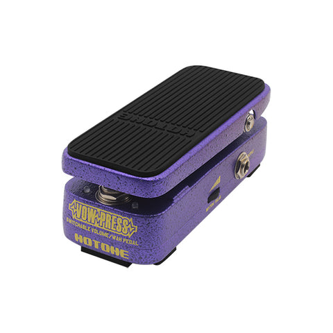 Hotone Vow Press Switchable Volume/Wah Pedal
