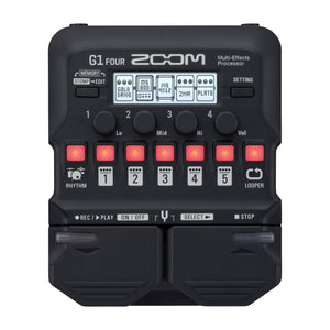 Zoom G1 FOUR Multi-Effects Processor for Guitar