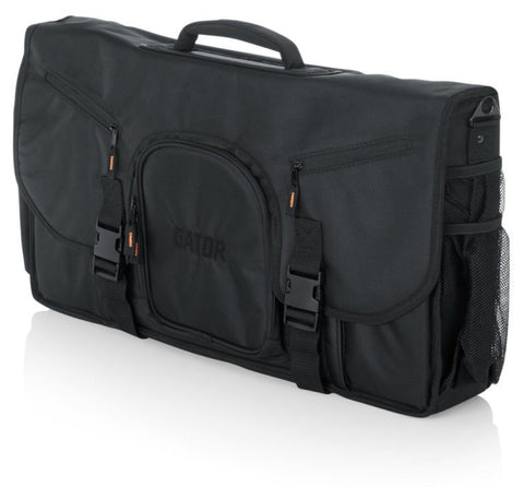 Gator Cases G-CLUB CONTROL 25 New DJ Controller Gig Bag Messenger-Style Case