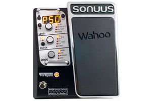 Sonuus Wahoo Analogue Multi-Effects Wah/Filter Guitar Pedal with MIDI