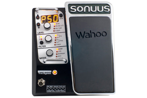 Image of Sonuus Wahoo Analogue Multi-Effects Wah/Filter Guitar Pedal with MIDI